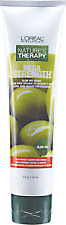 L'OREAL Nature's Therapy MEGA STRENGTH Hair Blow Dry Creme 5 oz OLIVE OIL New!
