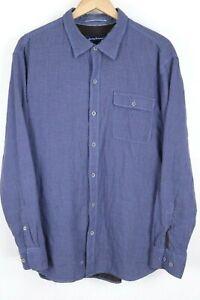 Tommy Bahama Havana Squared Mens size XL Blue Check Mens Dockside L/S Shirt