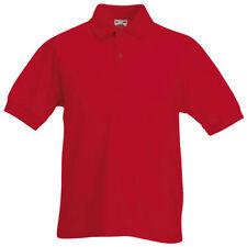 T-shirts et débardeurs rouge coton mélangé pour fille de 2 à 16 ans
