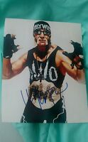 HULK HOGAN SIGNED 8X10 PHOTO WWE WWF HULKAMANIA NWO W/COA+PROOF RARE WOW