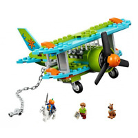 Scooby Doo Mystery Plane Adventures Brick Toys for Children Diy Building Blocks