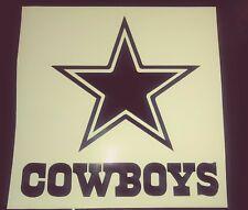 "Dallas Cowboys 4""x 4"" Under Star Vinyl Decal / car, tumbler, iphone yeti, rtic"