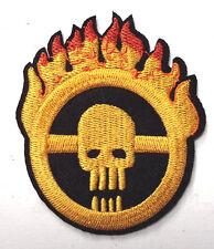 "Mad Max Fury Road Skull w Flames Logo 3"" Uniform Patch- FREE S&H (MMPA-0011)"