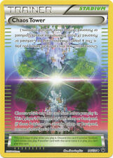 x4 Chaos Tower - 94/124 - Uncommon Pokemon XY Fates Collide M/NM English