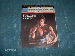 Tribute Magazine 1985, Sylvester Stallone Rocky IV ,Robert Redford,Glenn Close