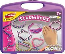 Joustra Scoubidous Armbänder selber basteln Bastelset für Kinder ab 7 Jahre