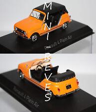 Norev Renault 4L Plein Air 1968 Orange 1/43 510044