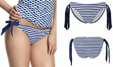Panache Briefs Bikini Bottoms Striped Swimwear for Women