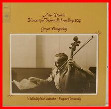 "Dvorak violoncello concerto Gregor Piatigorsky Eugene Ormandy 12"" LP (b749)"