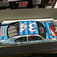1:24 ACTION David Ragan '12 Fusion #34 Where's Waldo? 1 of 138 Autographed COA