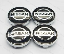 4Pcs 60mm Car Wheel Center Hub Caps Badge Rim Dust Cover Logo for NISSAN