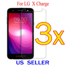3x Clear LCD Screen Protector Guard Cover Shield Film For LG X Charge