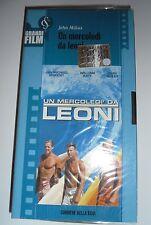 VHS Un Mercoledi Mercoledì Da Leoni JOHN MILIUS Surf Surfer Big Wednesday