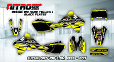 SUZUKI Graphics Kit Decal Design Stickers DRZ 400 E SM Motocross MX Enduro 99-17