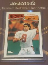 New listing 1987 Topps Steve Young #384 MINT Tampa Bay Buccaneers HOF
