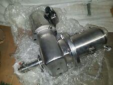 Feldmeier Pump With Boston Gear Drive Motor Stainless Steel Pharmaceutical