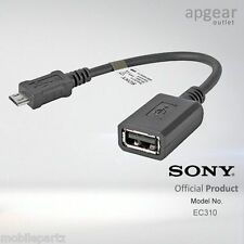 Genuine Sony EC-310 USB On the Go Mobile Phone Transfer / Micro to USB Cable