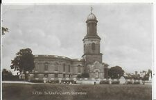 RARE,LOVELY VINTAGE POSTCARD,ST CHAD'S CHURCH,SHREWSBURY,SHROPSHIRE,1927