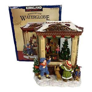 Toy Store Kirkland Signature Windowpane Snow Globe Water Musical See Video