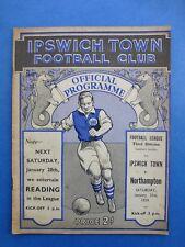 Ipswich Town v Northampton 1938-9