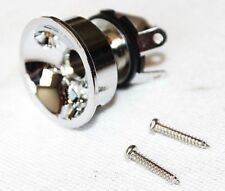 "Loaded chrome jack with 1/4"" plug for TELECASTER tele TL electric guitar TX dlr"