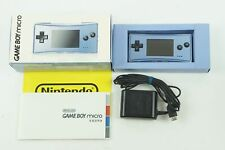 Nintendo Gameboy Micro Blue Console GB Box From Japan