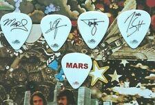 MOTLEY CRUE 5-guitar pick Saints of L.A. Tour SET - NEW!