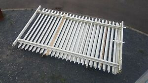 2.35m High, Heavy Duty Double Palisade Security Gates