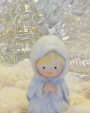 Heavenly Blessings Nativity MARY Figurine by Avon Bisque Porcelain 1986