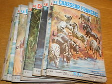 LOT ancien REVUE MAGAZINE de chasse LE CHASSEUR FRANCAIS hunt book VINTAGE