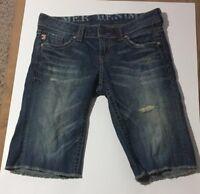 MEK Bermuda Antalya denim Jeans womens shorts SZ 26