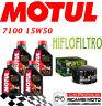 BMW R GS 1200 2004 2012 KIT TAGLIANDO 4 LT MOTUL 7100 15W50 + FILTRO OLIO
