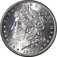 1882-S Morgan Silver Dollar PCGS MS64 Blast White Strong Strike STOCK
