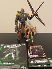Transformers War For Cybertron: Kingdom Dinobot And Rattrap Lot Of 2 Loose
