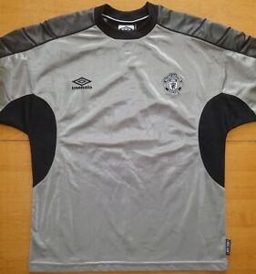 Manchester United 1999/00 Training Umbro Size M Football Shirt Jersey