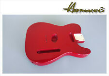 Telecaster Erle Body, Tele Alder Body, Finish High Gloss Candy Apple Red