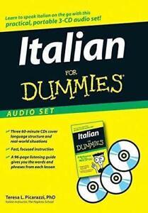 Italian For Dummies Hörbuch Sprachkurs italienisch - Teresa L. Picarazzi | CD