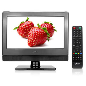 Small TV with Advanced LED Technology – 13.3 inch LED TV – HDTV – HDMI, RCA, RF