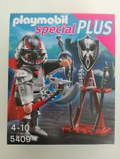 Playmobil 5409 - Knight with Axe and weapon stand (MISB, NRFP, OVP)