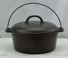 Griswold 7 Dutch Oven Slant Logo 2603 Bottom & Lid 2604 Erie Vintage Cast Iron