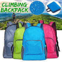 Outdoor Climbing Backpack Waterproof Foldable Nylon Laptop Travel Bag Sports