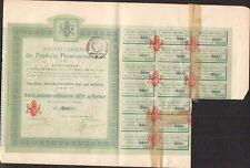 Société Centrale de PRODUITS PHARMACEUTIQUES (MOULINS S/YYEVRE CHER 18) (T)