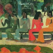 Calendario Allaluna 2021 - Gauguin ( formato 30 x 30 )