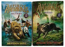 Spirit Animals : Wild Born (Book 1) and Hunted (Book 2) - HC, Free Shipping