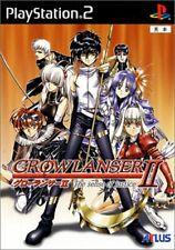 Growlanser II PS2 Atlas Sony PlayStation 2 From Japan