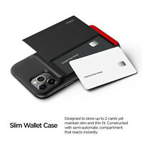 For Apple iPhone 11/ Pro/ Max Case | VRS®[Damda Glide Shield] Card Wallet Cover