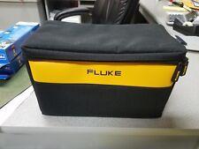 "FLUKE LARGE SOFT CASE, BAG 12""-7""-7"" FREE SET OF FLUKE AC72 ALLIGATOR CLIPS !"