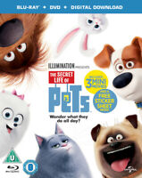 The Secret Life of Pets Blu-Ray (2016) Chris Renaud cert U 2 discs ***NEW***