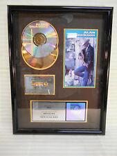 ALAN JACKSON PLATINUM SALES AWARD Here in the Real World RIAA Wall Art