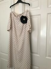 Jaques vert Spotted Dress party dress. Mother of the groom / bride